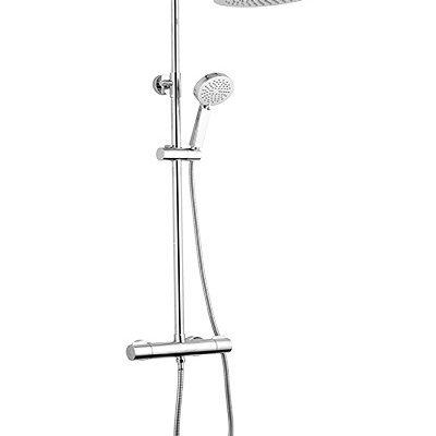 barre de douche berenice rond