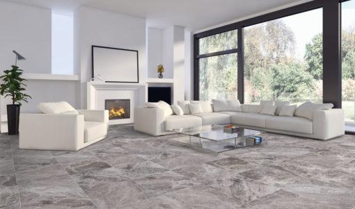 carrelage intérieur atlantic marbre gris.