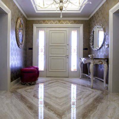 carrelage queen marbre beige-polis