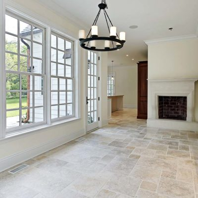 carrelage classic mix travertine