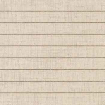 faïence mako decors pin stripped papiro bianco