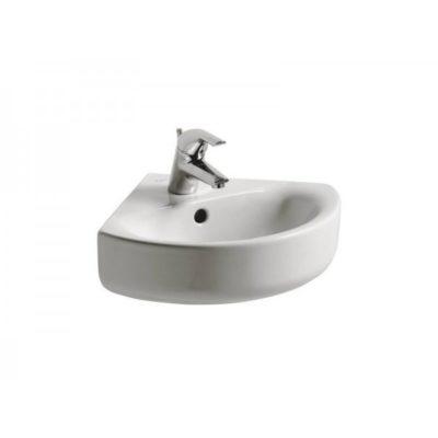 lave mains d'angle en céramique connect