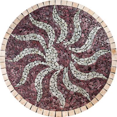 médaillon en marbre drv-med-8
