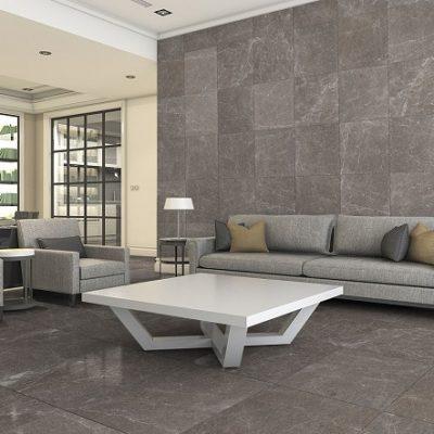 carrelage maya gris marbre