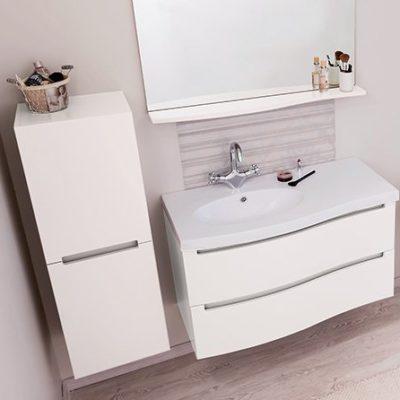 meuble de salle de bain italo blanc