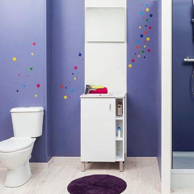 meuble de salle de bain lixy