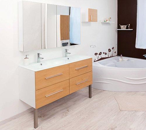 meuble de salle de bain modulo-chene