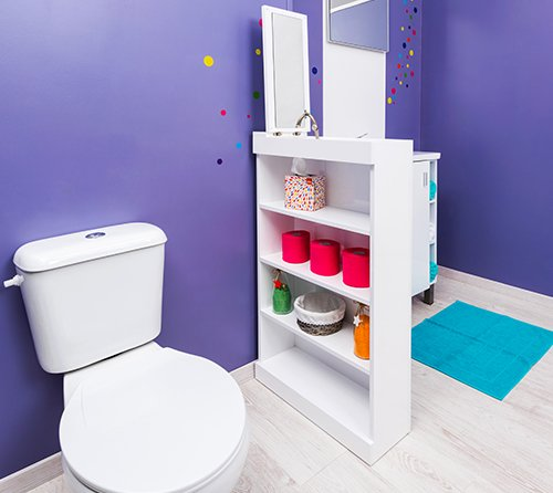 meuble de salle de bain wali