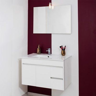 meuble de salle de bain nina