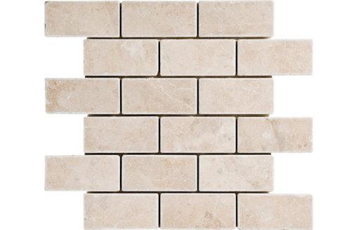 mosaïque roche beige marbre DRV-BM8-14