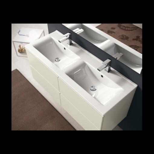 q17 meuble de salle de bain suspendu 120 cm