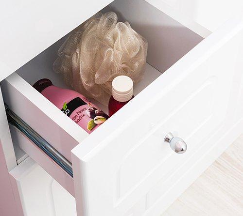 tiroir meuble de salle de bain baleares