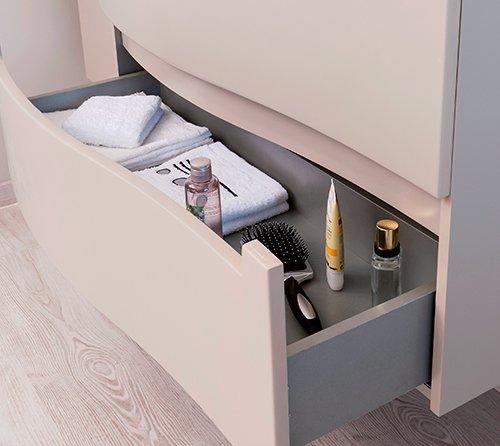 tiroir meuble de salle de bain italo