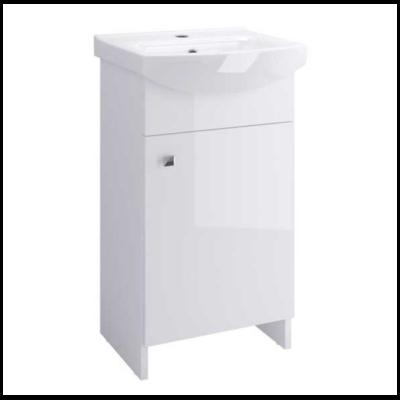 Meuble lave-mains à poser blanc de 40cm