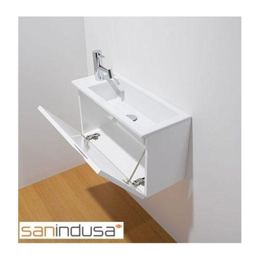 Meuble lave-mains blanc ALICANTE