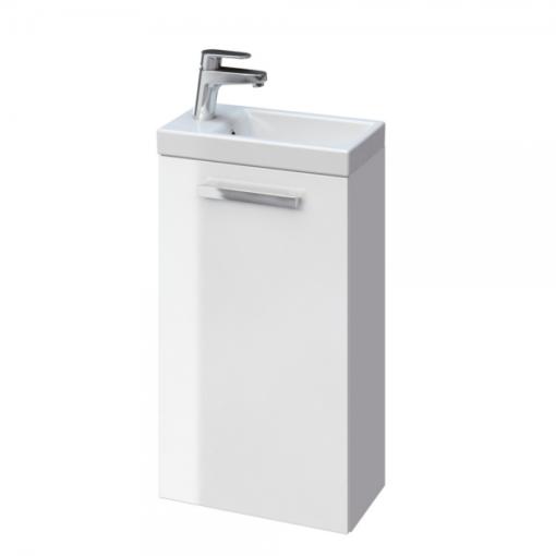 Meuble lave-mains de 40cm blanc brillant VENUS