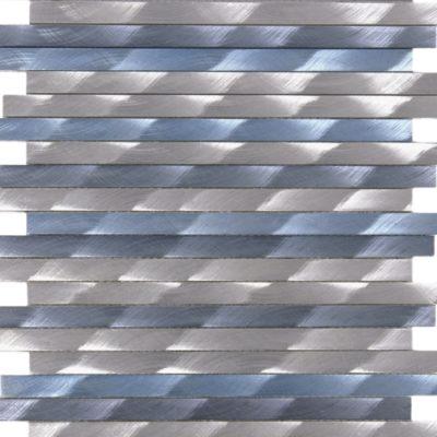 Barette Aluminium brosée Mem107