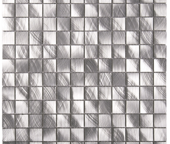 mosaïque Aluminium brossé mear5