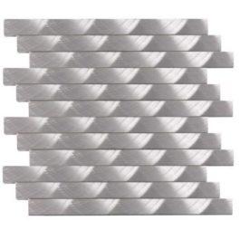 mosaïque Aluminium brossé mear9