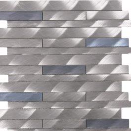 barette aluminium brosée mem104