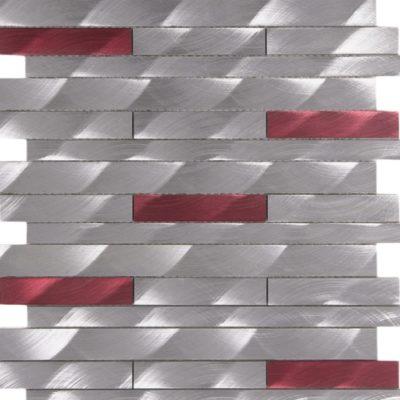 barette aluminium brosée mem106
