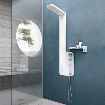 colonne de douche plane