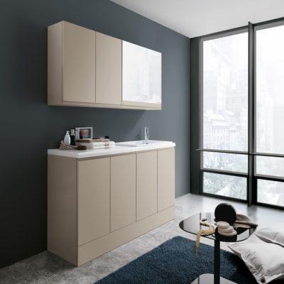 meuble de blanchisserie compact
