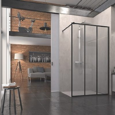 parois de douche Walk-in easy loft industrie