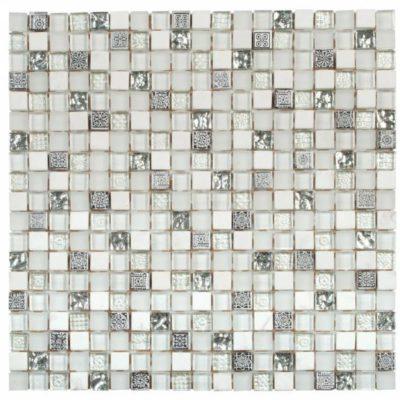 mosaïque en verre mat et brilant vemi114