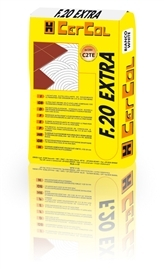 F20 Extra bianco colle pour carrelage