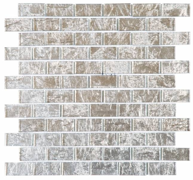 mosaïque en verre brique vears22