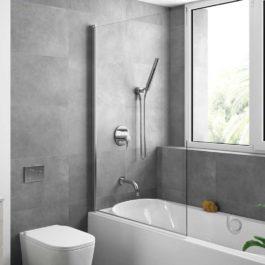 Heaven bath façade pivotante pour baignoire par Salgar