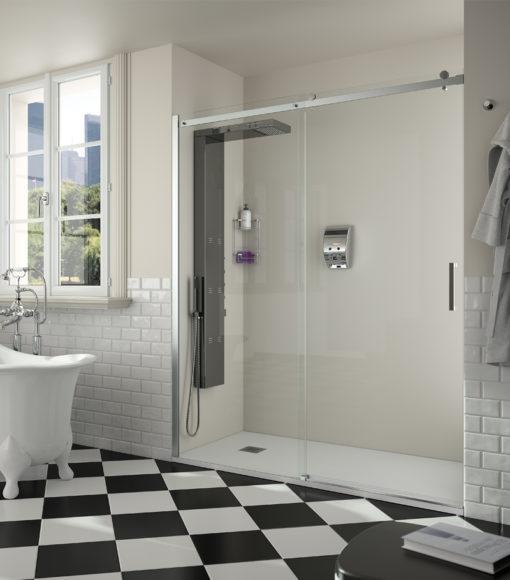 helsinki façade de douche une porte un fixe Salgar