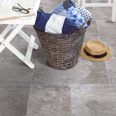 carrelage pote aspect pierre par keros céramica