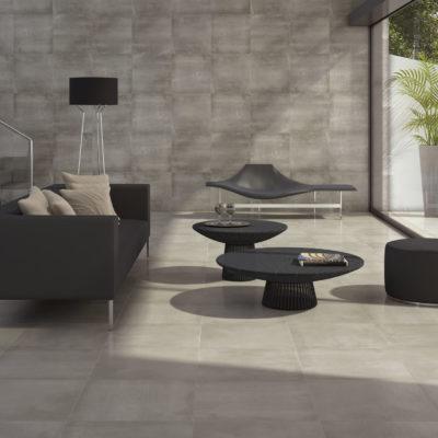 carrelage concept aspect béton pour intérieur par cifre ceramica