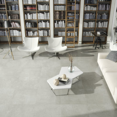 carrelage extend aspect ciment pour intérieur par cifre ceramica